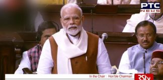 PM Narendra Modi Rajya Sabha , Motion of Thanks on President's Address