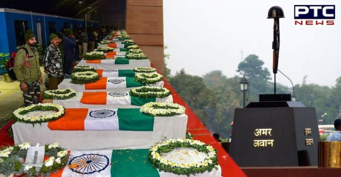 #PulwamaTerrorAttackFirstAnniversary : PM Narendra Modi And Home Minister Amit Shah paid tributes to the Pulwama 40 jawans Martyrs
