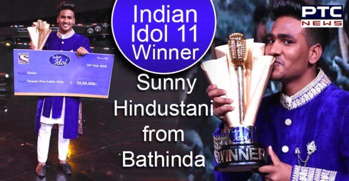Sunny Hindustani from Bathinda is Indian Idol 11 winner , Nusrat Fateh Ali