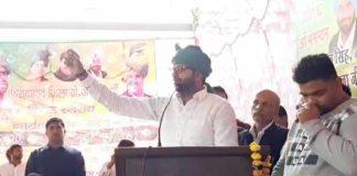 Digvijay Chautala addresses gathering in Balabhgarh of Haryana