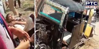 SchoolAutoAccident School children Auto Accident In Sri Muktsar Sahib, Many children Injured 1