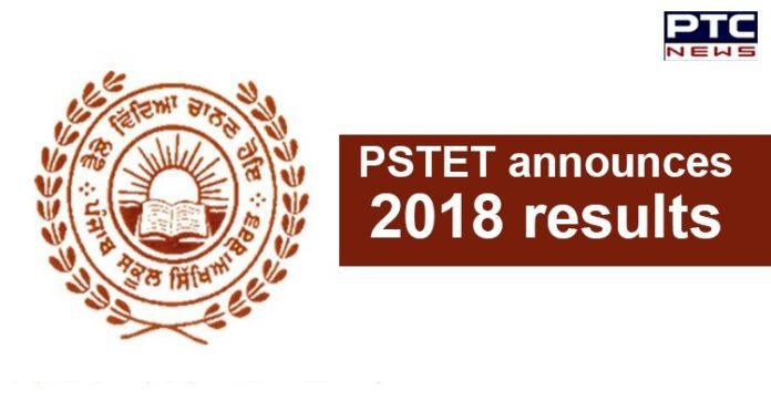 PSTET Result 2018 Declared , Punjab TET Results Online , PSEB