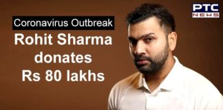 Rohit Sharma Donates Rs 80 Lakhs | Coronavirus PM CARES Fund