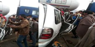 five people died in road-accident mansa-sirsa highway
