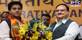 political crisis in Madhya Pradesh. Jyotiraditya Scindia is join the BJP In Delhi