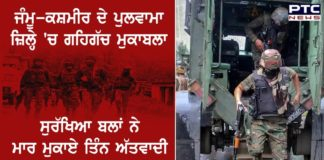 Forces Killed Militants Pulwama