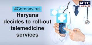 Coronavirus Haryana Telemedicine Services   Manohar Lal Khattar