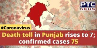 Coronavirus Punjab Death Toll , Confirmed Cases , Amritsar , Pathankot, Mohali