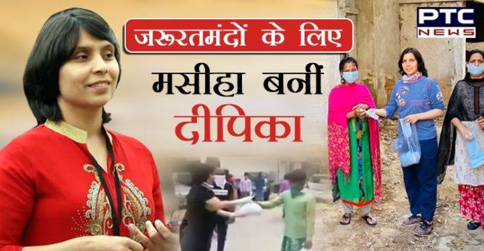 Deepika Deshwal helping needy amid coronavirus crisis