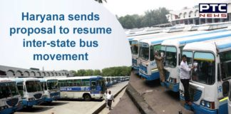 Haryana Government Interstate Movement Bus Route   UP, Punjab, and Delhi