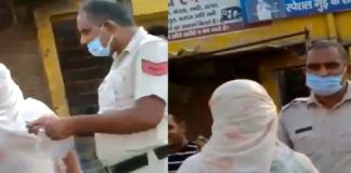 Video of traffic police personnel taking bribe goes viral, suspended