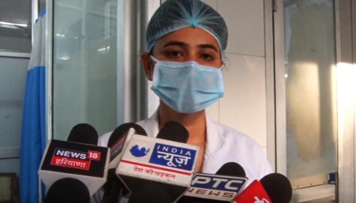 Woman lab technician postponed marriage amid Corona Crises