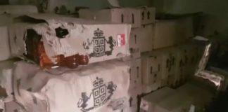 400 box of liquor missing, FIR Against two Policemen