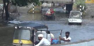 Underpass Turned in Swimming pool in Sonipat of Haryana