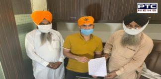 Preet Harpal ne Sri Akal Takht Sahib ja ke mangi maffi