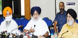 Sukhbir Singh Badal castigates CM and Cong for trying to deceive farmers by issuing a false and misleading press statement about the All Party meeting