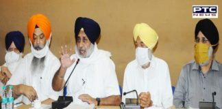 Sukhbir Singh Badal says SAD ready to make any sacrifice for welfare of farmers