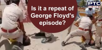 Rajasthan Jodhpur   Man Beaten by Police for not wearing Mask   George Floyd Incident India