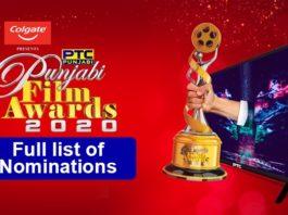 PTC Punjabi Film Awards 2020 Nominations List | PTC Network