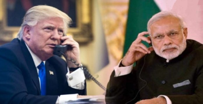 TELEPHONE CONVERSATION BETWEEN PM AND PRESIDENT OF USA