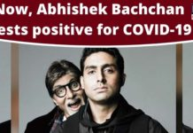 Abhishek Bachchan, Coronavirus