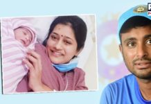 Ambati Rayudu Girl Child | Wife Chennupalli Vidya | Suresh Raina
