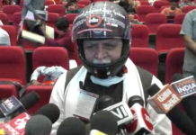 CM Khattar distributed helmets to 100 children for free
