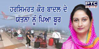 Harsimrat Kaur Badal efforts 120 Punjabi youth return Punjab