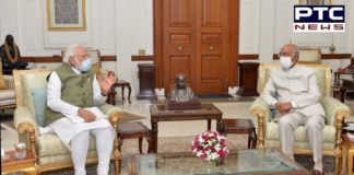 Narendra Modi Meets President Ram Nath Kovind Amid India China Stand Off