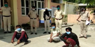 Three miscreants arrested for looting passersby | Haryana News