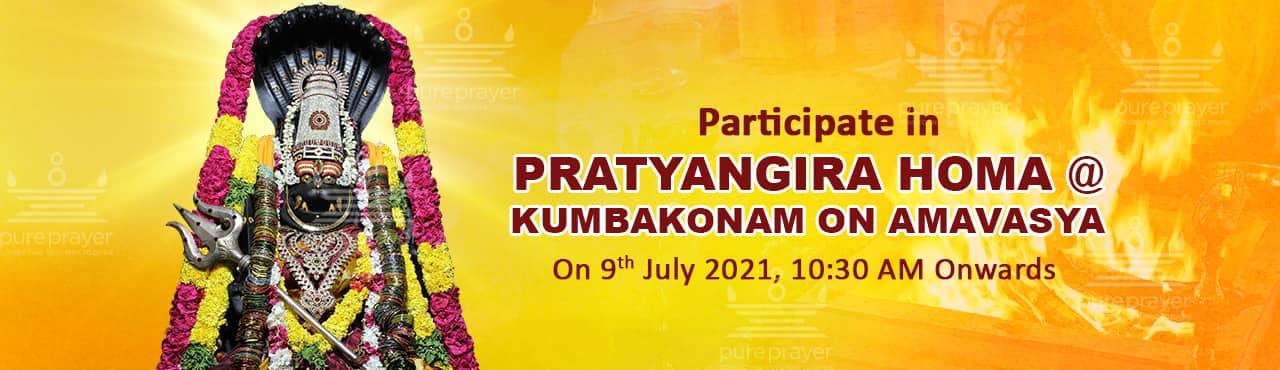 Maha Pratyangira Homa