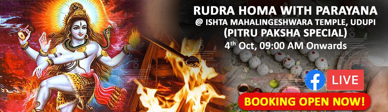 Rudra Homa With Parayana