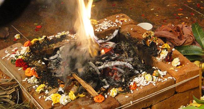 Putrakameshti Yaga is dedicated to Lord Vishnu. seeking a smale child for auccessor