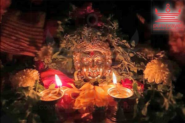 Perform Durgadeepa Namaskara Puja in your homes with best Vedic Pandits and Pujaris from Pureprayer