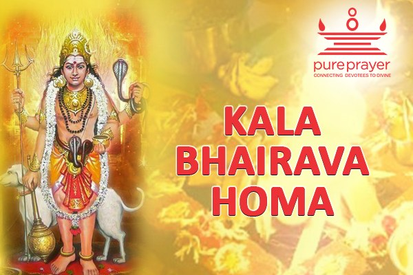 Book and perform Kala Bhairava homa | Kaal Bhairv Havan with best Vedic Pandits from PurePrayer for Positive Vibrations and Success
