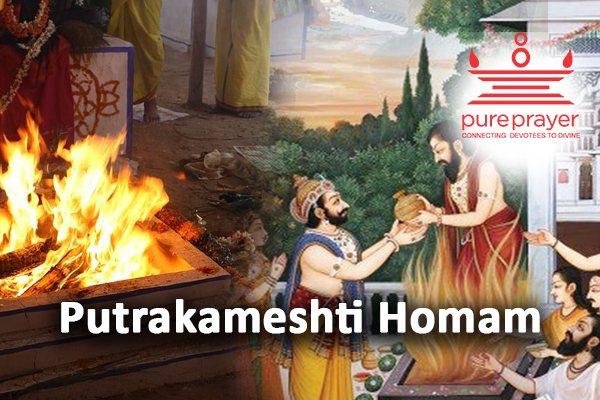 Book and perform Putrakameshti Homa or Putrakameshti Yaag with best & experienced Vedic Pandits from PurePrayer