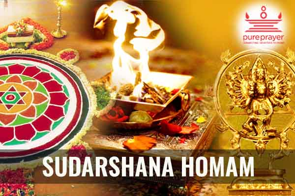 Book and perform Sudarshana Homam to ward off negativity