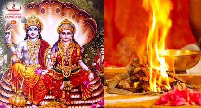 Lakshmi Narayana Homam | Lakshmi Narayana Pooja