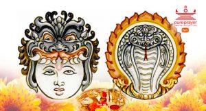 Rahu-Ketu Parihara Puja to alleviate difficulties caused by Rahu and Ketu.