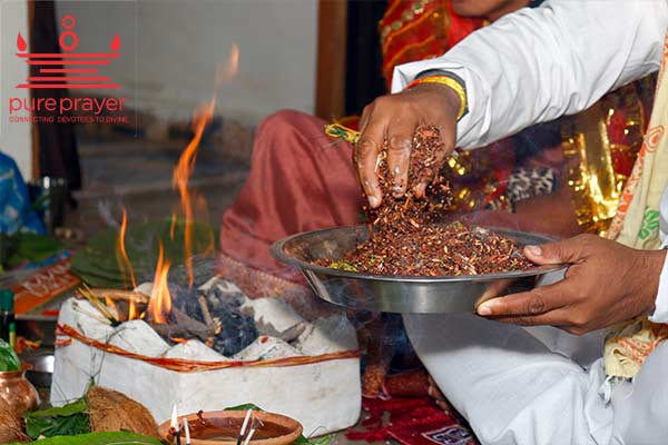 Book the best Pandit or Purohit from Pureprayer to perform Thila Homam