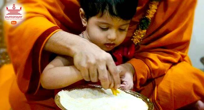 Aksharabhyas, Vidyarambha, Sarasvati Puja refer to one of the Shodash Samskars