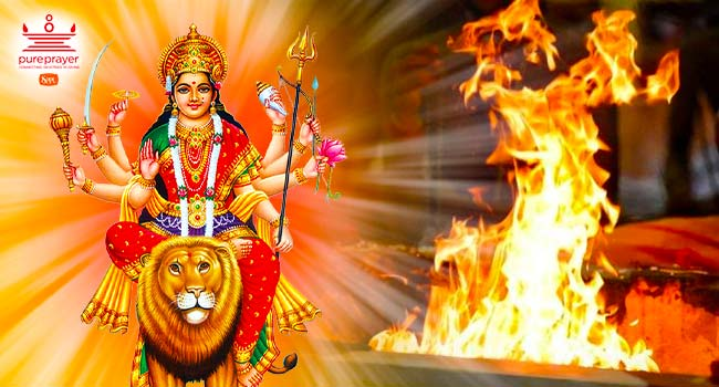 Book Pandit for Chandika Homam with Pureprayer