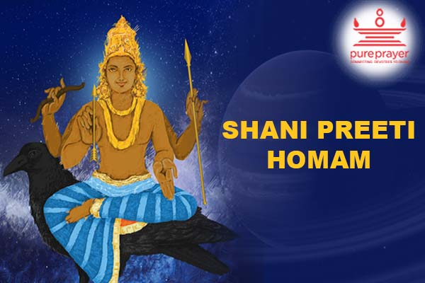 PurePrayer provides best Vedic experienced Purohits and Tamil Vadhyar for performing Shani Preeti Homam