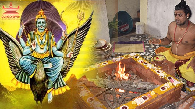 Book the the best Vedic and experienced Purohits for performing Shani Preeti Homam