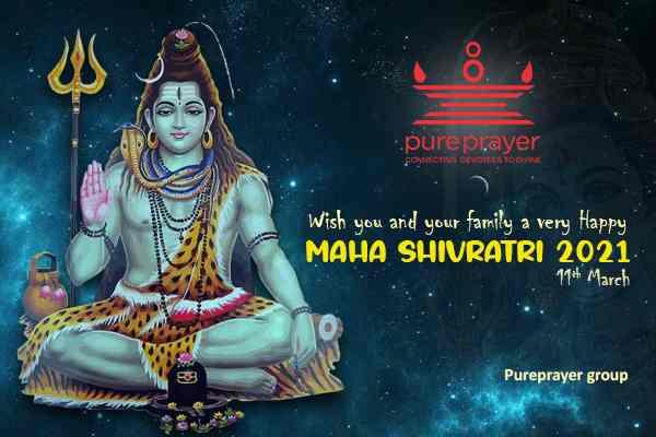 ook Havan-Puja-Seva for Maha Shivaratri with Pureprayer