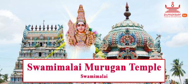 Swamimalai Murugan Temple - Book online Pujas, Homam, Sevas, Purohits,  Astro services| Pure Prayer