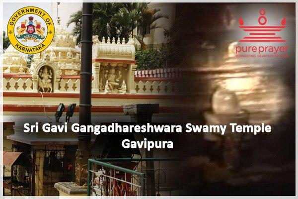 Book Pujas in Sri Gavi Gangadhara Temple of Gavipuram in Bengaluru with Pureprayer