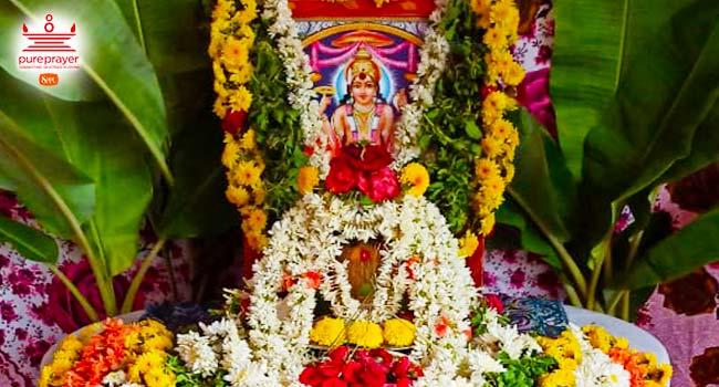 Satyanaryana Pooja flowers & decoration