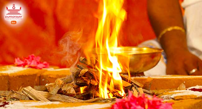 Vadadurga Homam is performed to Goddess Vanadurga, a form of Durga that represents Mother Nature.