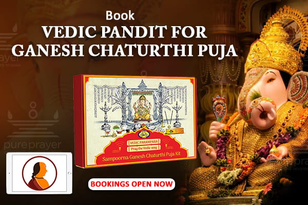 Celebrate Hassle Free Ganesh Chaaturthi Festival with Puja Kit & Online Pandit Support